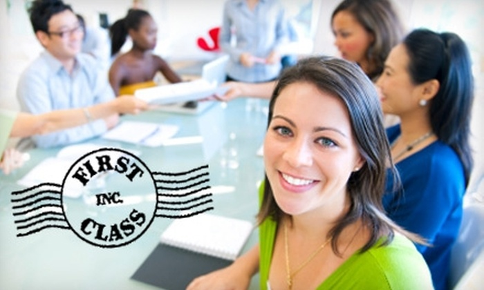 First Class, Inc.  - Washington DC: $20 for $40 Toward Any Adult-Education Class at First Class, Inc.