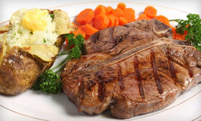 Glenwood Oaks Rib & Chop House - Central District: $20 for $40 Worth of Ribs, Steaks, and American Fare at Glenwood Oaks Rib & Chop House in Glenwood
