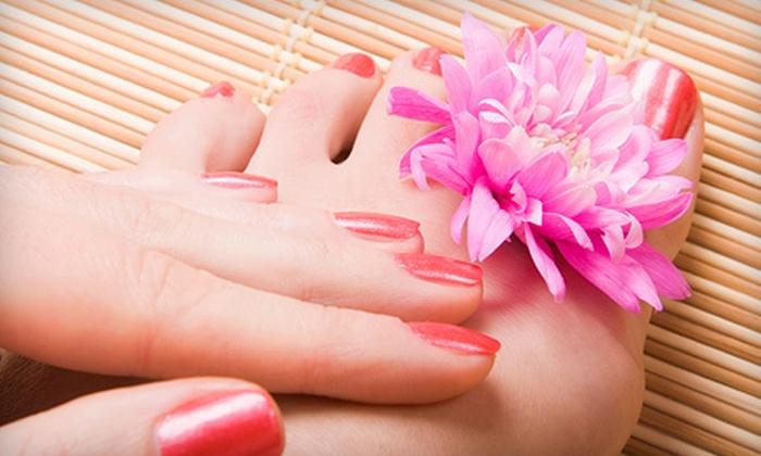 Salon D'Mars - Novi: One or Three OPI Gel Manicures at Salon D'Mars in Novi (Up to 53% Off)