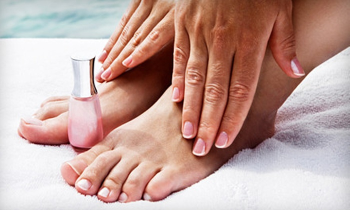 Spalon  - Fair: $22 for a Basic Mani-Pedi at Spalon in Platte City ($44 Value)