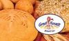 Great Harvest Bread Co. - Multiple Locations: $7 for $15 Worth of Freshly Baked Bread and Baked Goods at Great Harvest Bread Co.
