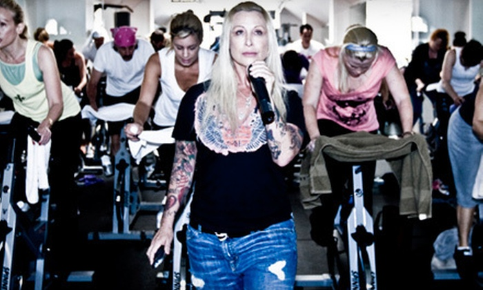 Made in LA - Hollywood: 5 or 10 Spin Classes or 3 Private Training Sessions at Made in LA in Hollywood (Up to 78% Off)