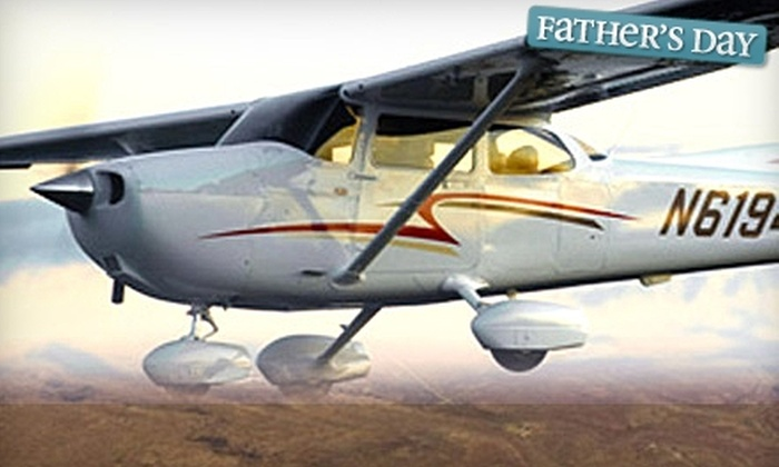 Eagle Aircraft - Valparaiso: $50 for Discovery Flight Experience from Eagle Aircraft ($99 Value) in Valparaiso