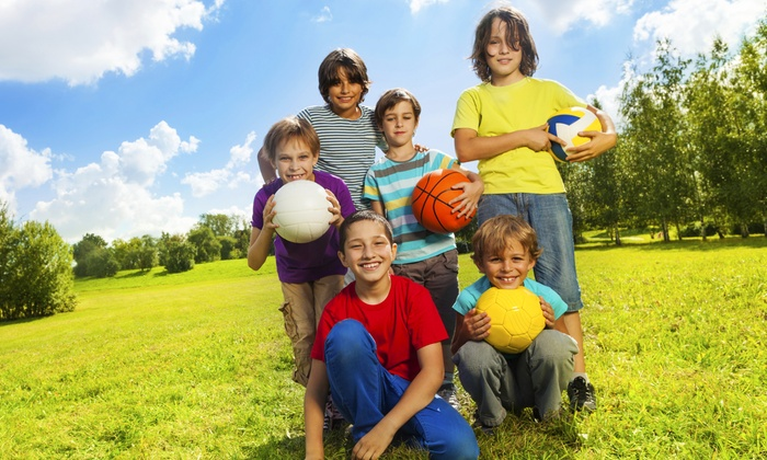 KidSportzUSA - KidSportzUSA: Morning or Afternoon Half-Day Spring Break Camp at KidSportzUSA (39% Off)