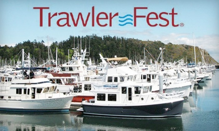 Trawler Fest Boat Show - Federal Hill Park: $7 One-Day Admission to Trawler Fest Boat Show, September 24–26 ($15 Value)