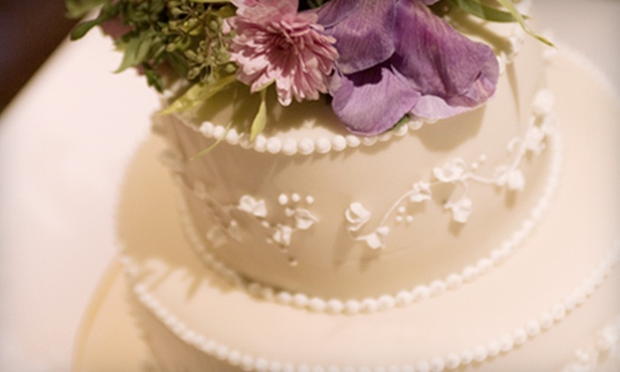 Sweet Melissa Patisserie - Multiple Locations: Tea Service for Two or Wedding Cake from Sweet Melissa Patisserie