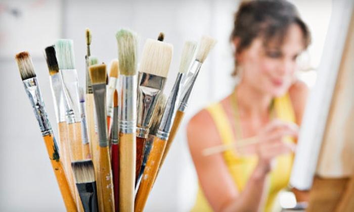 Vita Art Center - San Buenaventura (Ventura): One or Three Adult or Youth Art Classes at Vita Art Center in Ventura (Up to 59% Off)