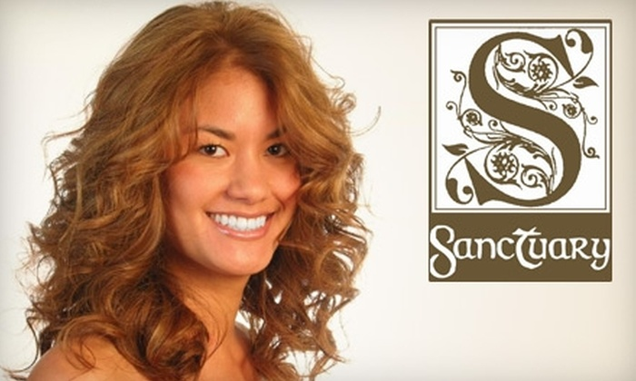 Sanctuary - Homewood: $25 for $50 Worth of Salon Services at Sanctuary