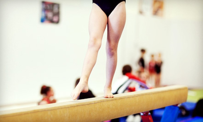 GC2 Gymnastics - Syracuse: Eight Parent and Tot, Preschool, or Level One Beginner Gymnastics Classes at GC2 Gymnastics