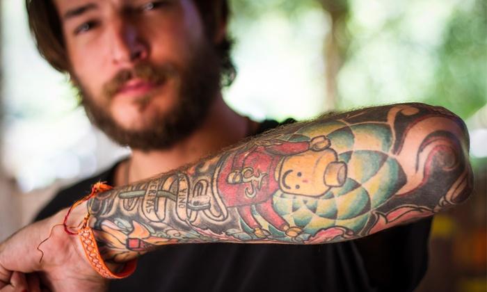 Inferno Giallo - Inferno Giallo: Buono sconto fino a 250 € su tatuaggio di diverse dimensioni
