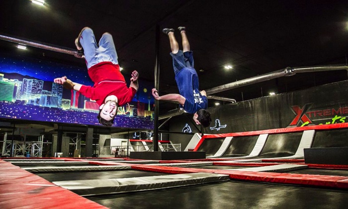 Flip N Out Xtreme - Chateau Nouveau: Jump Sessions at Flip N Out Xtreme (Up to 67% Off). Four Options Available.