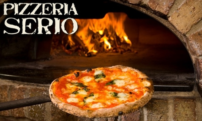 Pizzeria Serio - Lakeview: $10 for $20 Worth of Pizza and Drinks at Pizzeria Serio