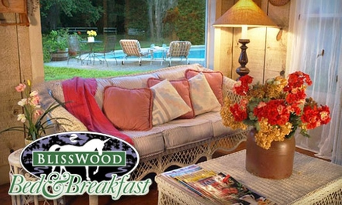 BlissWood Bed and Breakfast - Eagle Lake: Romantic Two-Night Stay at BlissWood Bed and Breakfast. Choose Between Two Options.