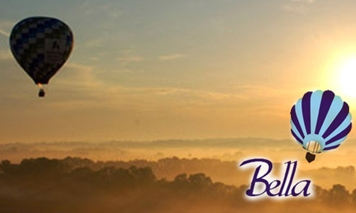 Bella Balloons  - Cincinnati: $154 for One Spot on a Hot-Air-Balloon Ride and Post-Flight Champagne Toast at Bella Balloons ($250 Value)