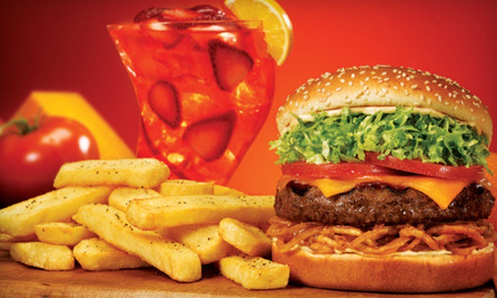 Red Robin - Multiple Locations: $10 for $20 Worth of Burgers, Fries, and Shakes at Red Robin. Four Locations Available.