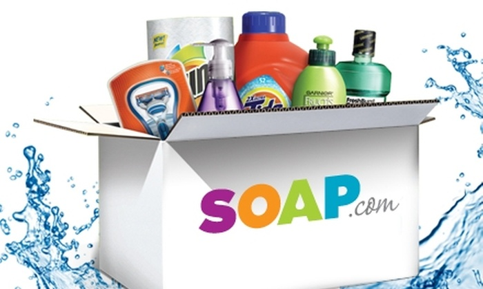 Soap.com: $10 for $20 Worth of Household Products from Soap.com