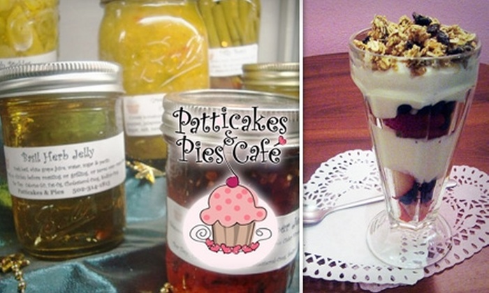 Patticakes & Pies Cafe - Downtown New Albany: $9 for $18 Worth of Breakfast, Paninis, and More at Patticakes & Pies Cafe