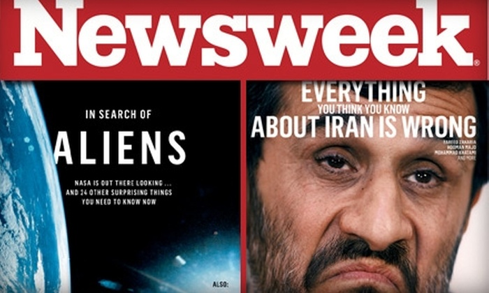 "Newsweek, Inc. - Seattle: $20 for 54 Issues of ""Newsweek"" ($40 Value)"