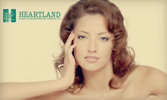 Heartland Plastic and Reconstructive Surgery - Urbandale: $49 for a Microdermabrasion Treatment at Heartland Plastic and Reconstructive Surgery ($99 Value)