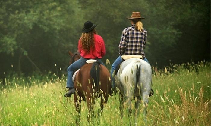 Nature Speaks - Jupiter Farms: $38 for a One-Hour Horseback Ride at Nature Speaks in Jupiter ($75 Value)