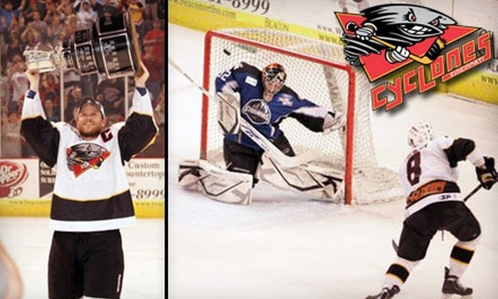 Cincinnati Cyclones - Central Business District: $13 for One Ticket to the Cincinnati Cyclones Home Opener and One Ticket to an Additional Cyclones Game ($26 Value)