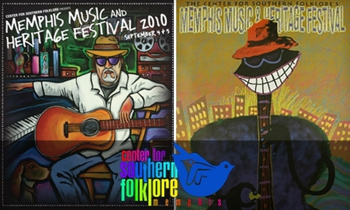Center for Southern Folklore - Downtown Medical Center: $10 for $20 Worth of Memphis Music and Heritage Festival Posters at the Center for Southern Folklore