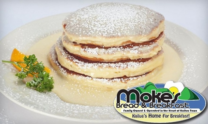 Moké's Bread & Breakfast - Kailua: $7 for $15 Worth of Breakfast and More at Moké's Bread & Breakfast