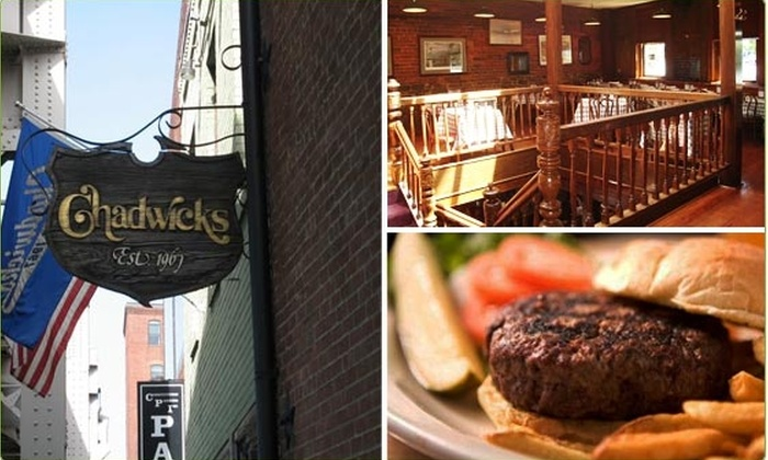 Chadwicks Georgetown - Georgetown: $10 for a $25 Groupon to Chadwicks Restaurant