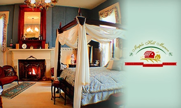 Maple Hill Manor - Springfield: $150 for Two Nights at Maple Hill Manor in Springfield (Up to $300 Value)