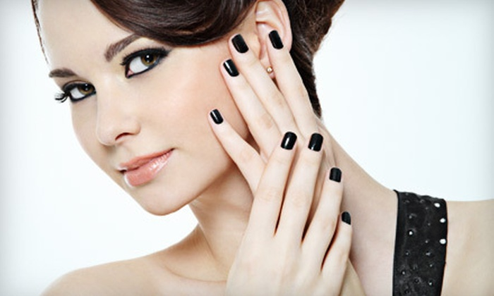 Nails by Shuran - Memphis: Shellac Manicure and Pedicure Package or $20 for $40 Worth of Services at Nails by Shuran