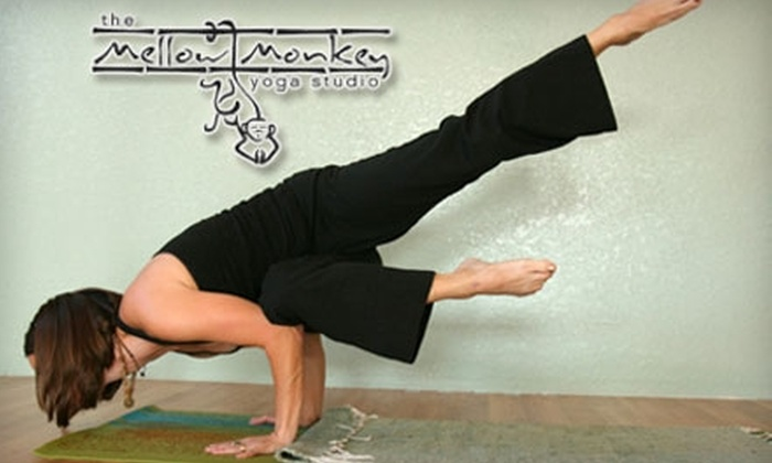 The Mellow Monkey Yoga Studio - Millwood: $30 for Five Drop-In Yoga Classes at The Mellow Monkey Yoga Studio ($60 Value)