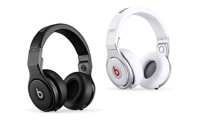 casque audio beats by dr dre pro groupon. Black Bedroom Furniture Sets. Home Design Ideas