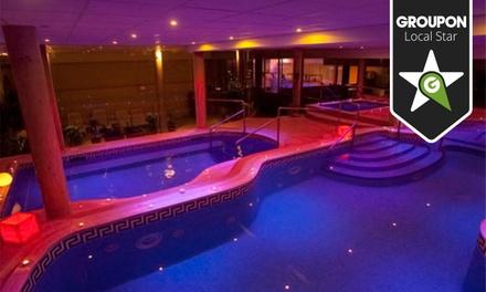 Circuito en balneario para dos por 29 € con masaje o cena desde 59 € y con todo por 119 € en la sierra de Madrid