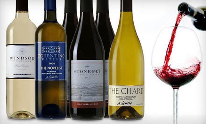 6 Bottles of Premium Wine from Windsor Vineyards: $49 for Six Bottles of Premium Wine in a Mixed Assortment ($119 List Price)