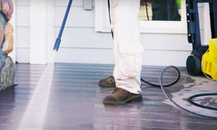 Triangle Maintenance Specialists - Raleigh / Durham: Power Washing, Window Washing, or Both from Triangle Maintenance Specialists (Up to 74% Off)