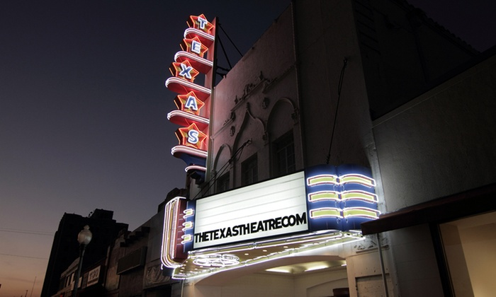 The Texas Theatre - Oak Cliff: Gift Card for Independent Films and Cult Classics at The Texas Theatre (Up to 40% Off). Two Options Available.