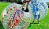 KC Sports Leagues - Kansas City: Bubble-Soccer Game for 6, 10, or 16 from KC Sports Leagues (Up to 73% Off)