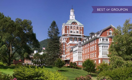 Stay at The Omni Homestead Resort in Hot Springs, VA, with Dates into July