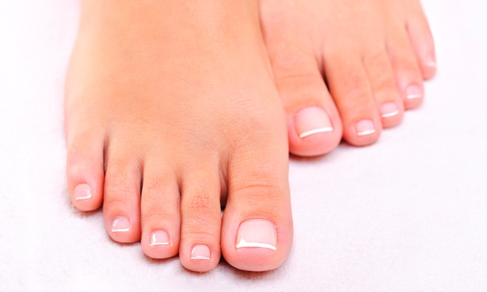 The Laser Nail Center - Multiple Locations: One Laser Nail Fungus Treatment for One Foot or Two Feet at The Laser Nail Center (Up to 63% Off)