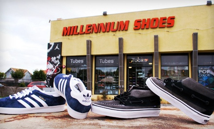 $40 Groupon to Millennium Shoes Outlet - Millennium Shoes Outlet in Van Nuys
