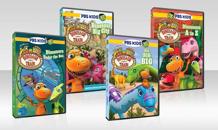 PBS Dinosaur Train DVD 4-Pack: PBS Dinosaur Train DVD 4-Pack. Free Shipping and Returns.