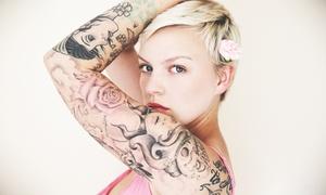 Tattoo Box: Wertgutschein über 100 oder 150 € anrechenbar auf ein Tattoo bei Tattoo Box ab 34,90 € (bis zu 67% sparen*)