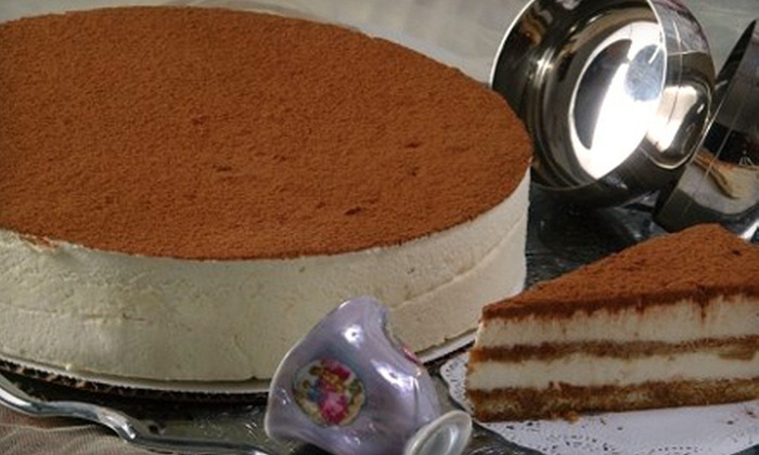 Gourmet Desserts - Athenia: 5 or 10 Individual Desserts or $30 for $60 Toward a Custom Cake at Gourmet Desserts in Clifton (Up to 58% Off)