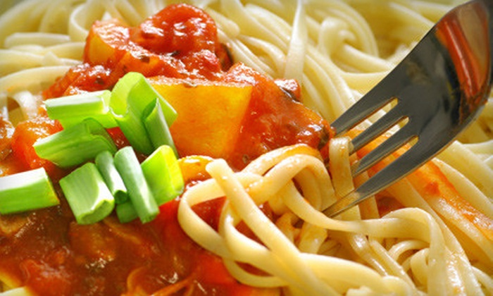 5 J's Italian Dining - Lamar Heights: $10 for $20 Worth of Italian Fare at 5 J's Italian Dining