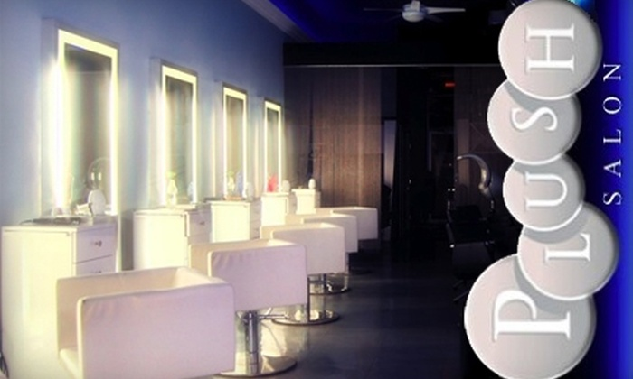 Plush Salon - White Plains: $99 for a Keratin Complex Smoothing Treatment at Plush Salon ($250 Value)