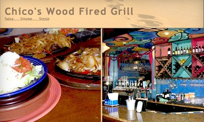 Chico's Wood-Fired Grill - Citrus Park-Fern Lake: $15 for $30 Worth of Mexican Fare and Drinks at Chico's Wood-Fired Grill