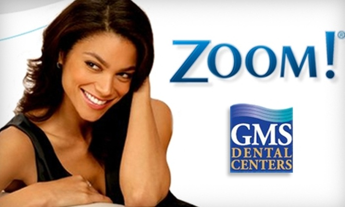 GMS Dental Centers - Dallas: $179 for Zoom! Teeth-Whitening Treatment at GMS Dental Centers
