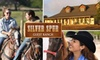 Silver Spur Guest Ranch - Bandera: $15 for a One-Hour Horseback Ride at Silver Spur Guest Ranch ($35 Value)