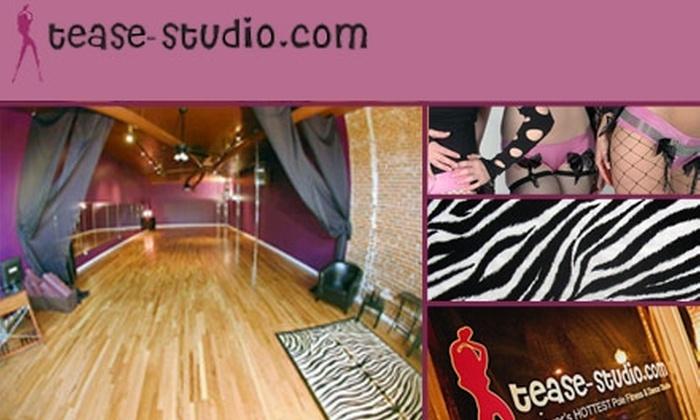 Tease Studio - Washington Park West: $37 for 6-Class Punch Card at Tease Studio ($75 Value)