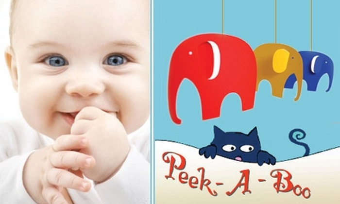 Peek-A-Boo - Humewood - Cedarvale: $30 for $60 Worth of Children's Toys, Gear, Clothing, and More from Peek-A-Boo